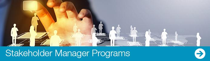 stakeholder manager programs