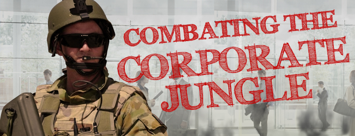 COMBATING THE CORPORATE JUNGLE NEW SM