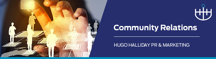 community relations_hugo halliday pr and marketing sydney