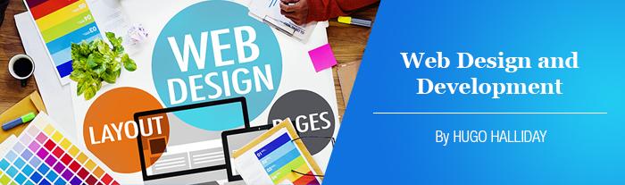 web design and development header