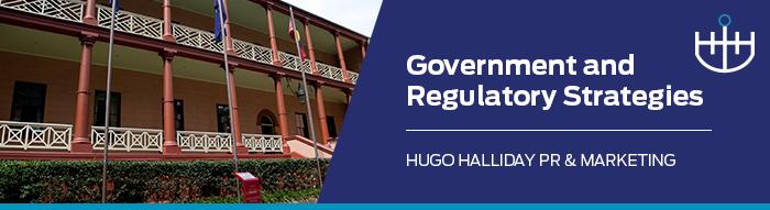 Government and Regulatory Strategies_hugo halliday pr and marketing sydney nsw