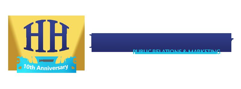 Hugo Halliday 10th anniversary logo