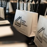 housing supply association launch event swag bags