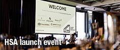 HSA launch event management