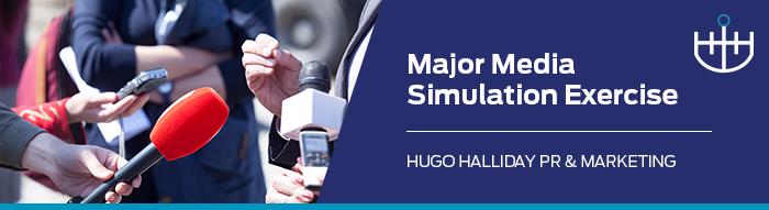 Major-Media-Simulation-Exercise_hugo halliday pr and marketing sydney