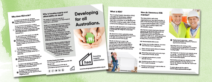 housing supply association brochure