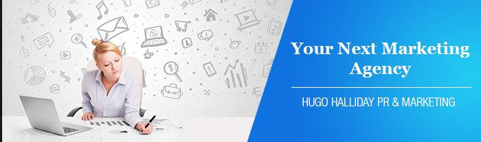 your next marketing agency hugo halliday