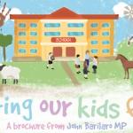 John Barilaro Education Brochure cover