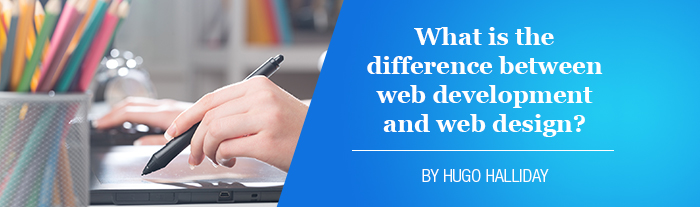what is the difference between web development and web design