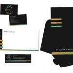 The Showground Branding Stationary