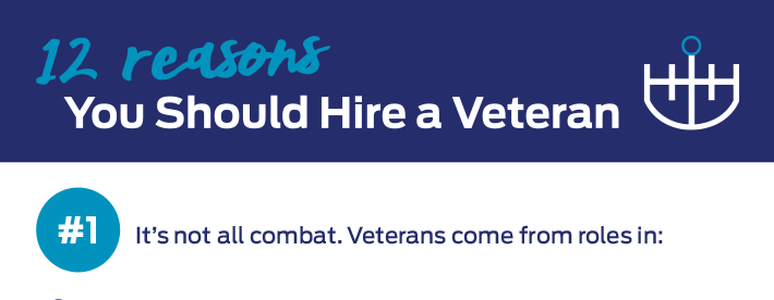 12 reasons you should hire a veteran infographic case study_hugo halliday pr and marketing