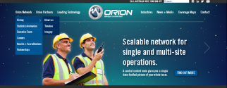 The orion network website